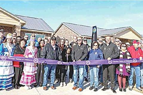 Choctaw Nation opens affordable rent housing in Coalgate
