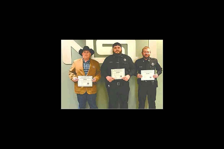 Sheriff and deputies complete CSI training