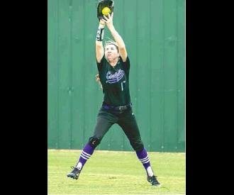 Senior center fielder Rylie Wood #17 — Named to the 2A District 7 All District team as well as the 2A Region 6 All Regional team.